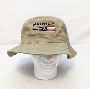 Nautical Embroidered Bucket Hat